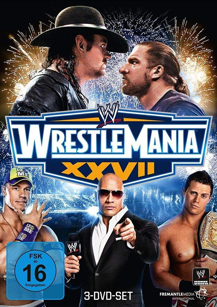 Image of WWE WrestleMania 27 3-DVD Standard