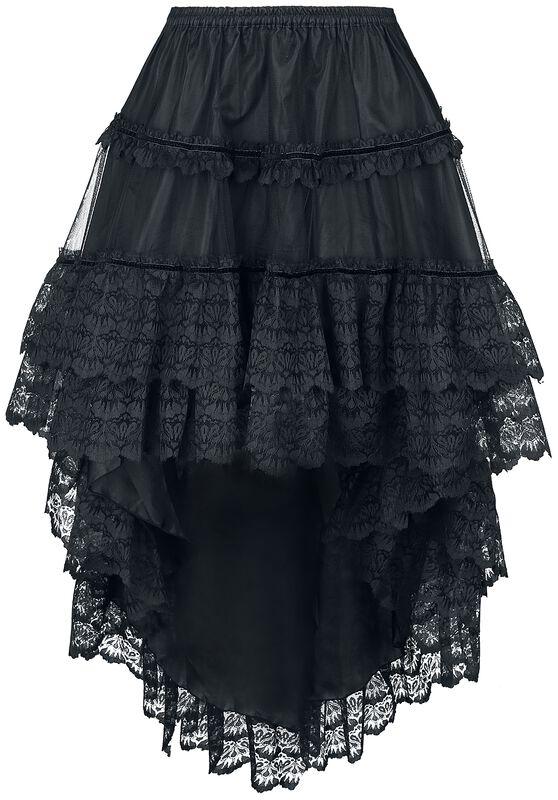 Dip Hem Skirt