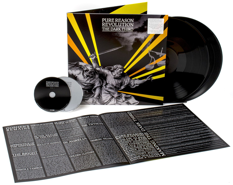 Image of Pure Reason Revolution The dark third 2-LP & 2-CD Standard