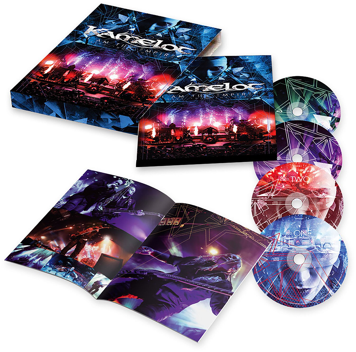Image of Kamelot I am the empire - Live from the 013 CD & DVD & Blu-ray Standard