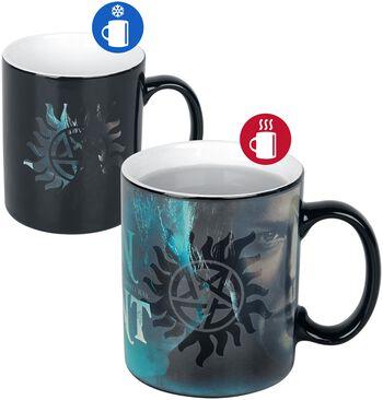 Sam und Dean - Tasse mit Thermoeffekt
