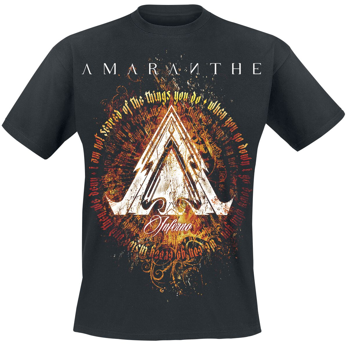 Image of Amaranthe Inferno T-Shirt schwarz