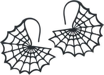 Black Spiderweb Ohrhänger