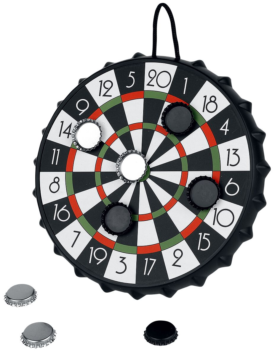 Darts Kronkorken Zielscheibe Partyspiel multicolor 14622