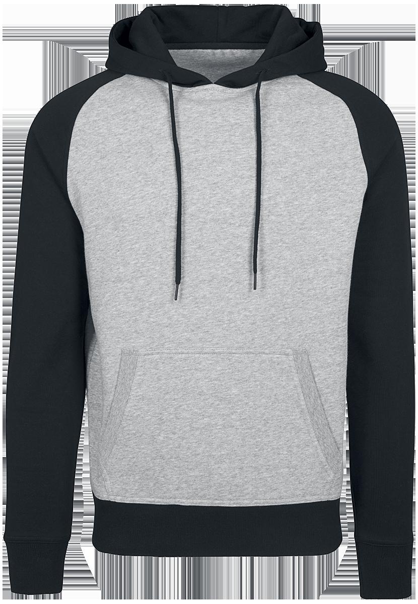 RED by EMP - Raglan Hoodie - Hooded sweatshirt - light grey/black image