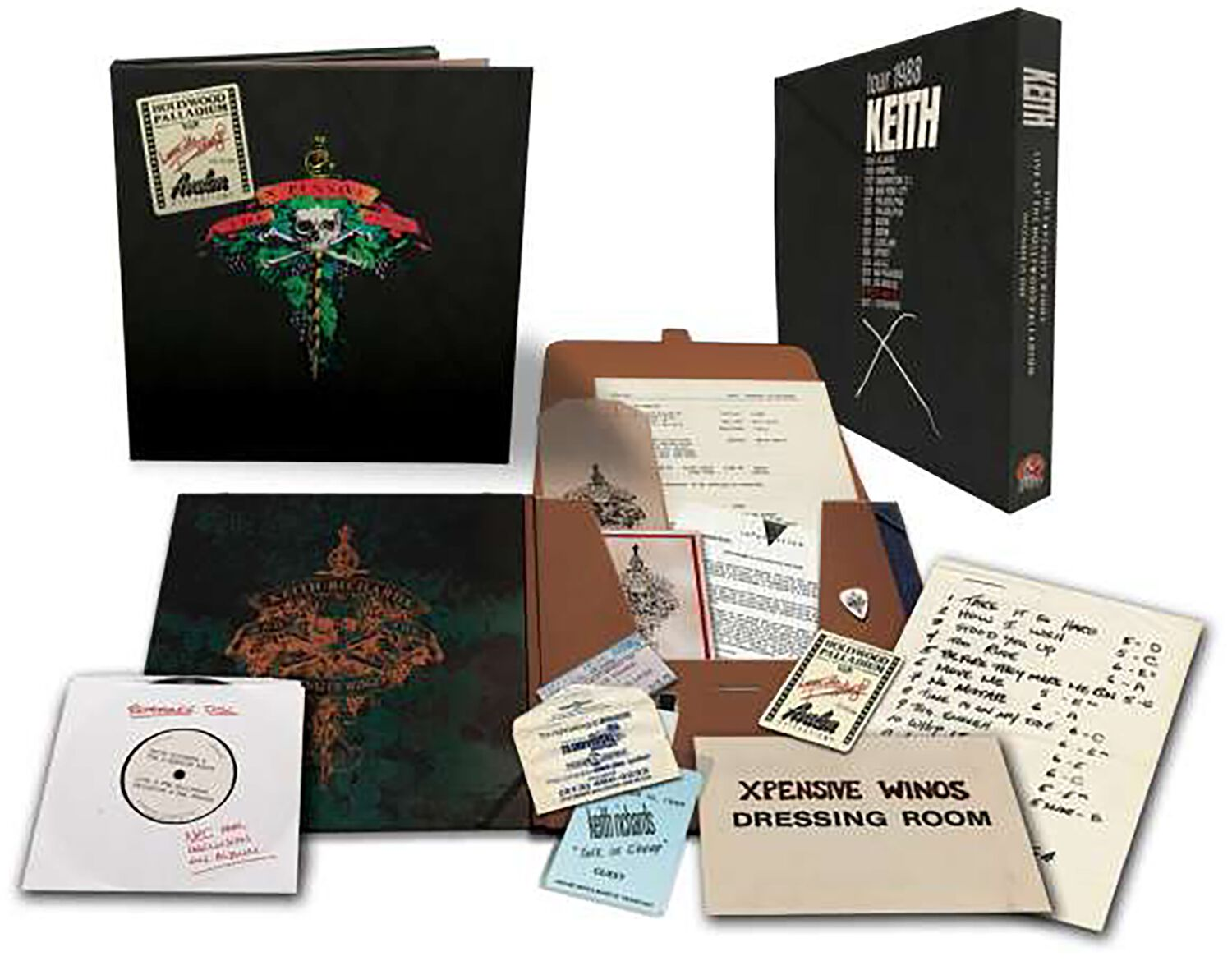 Image of Keith Richards Live at the Hollywood Palladium 3-LP & CD & DVD Standard