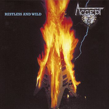 Accept  Restless and wild  CD  Standard