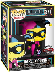 Harley Quinn (Black Light) Vinyl Figur 371