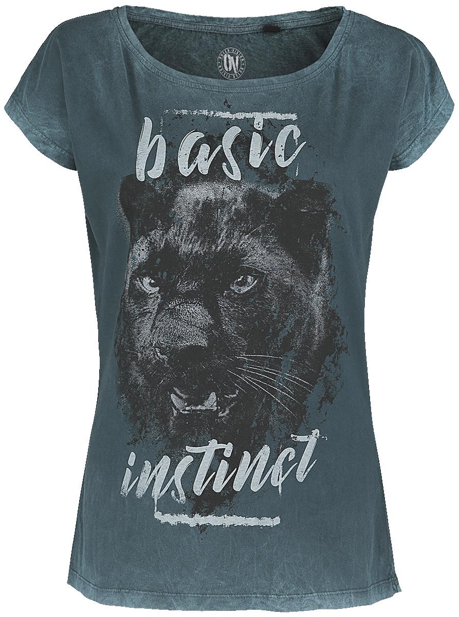 Outer Vision - Basic Instinct - Girls shirt - turquoise image