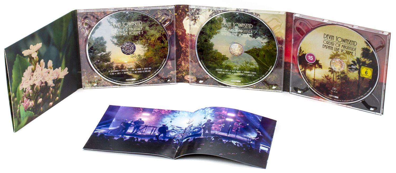 Image of Devin Townsend Order of magnitude - Empath Live Volume 1 2-CD & DVD Standard
