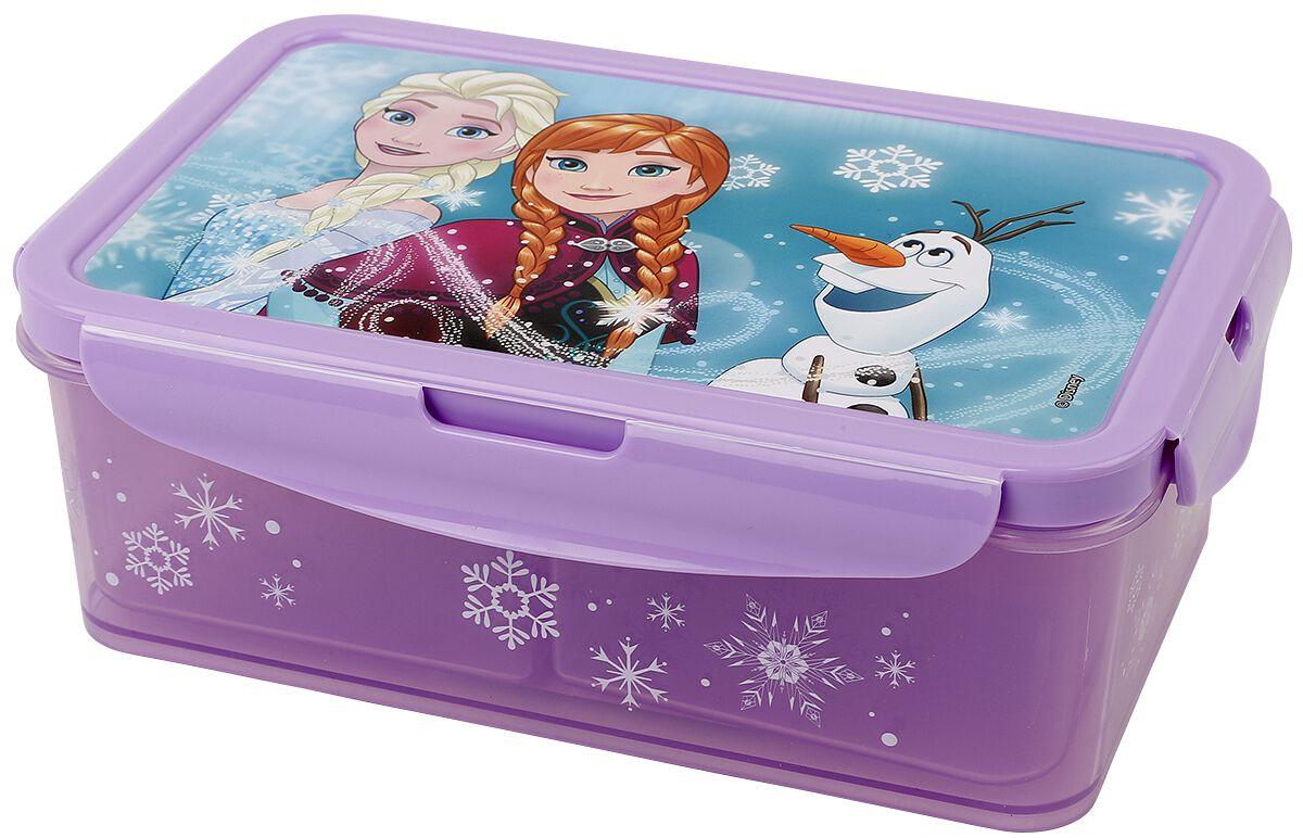 Die Eiskönigin Lunchbox mit Einsätzen Brotdose multicolor 28680