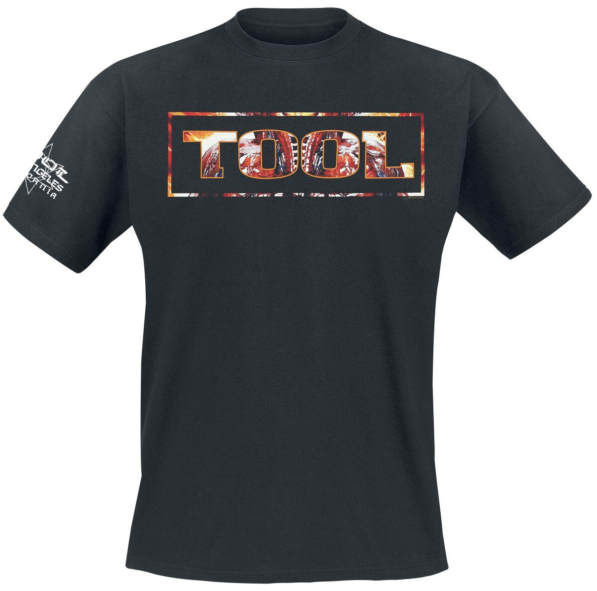 Tool Parabola Logo T-Shirt schwarz RTTOO043-02