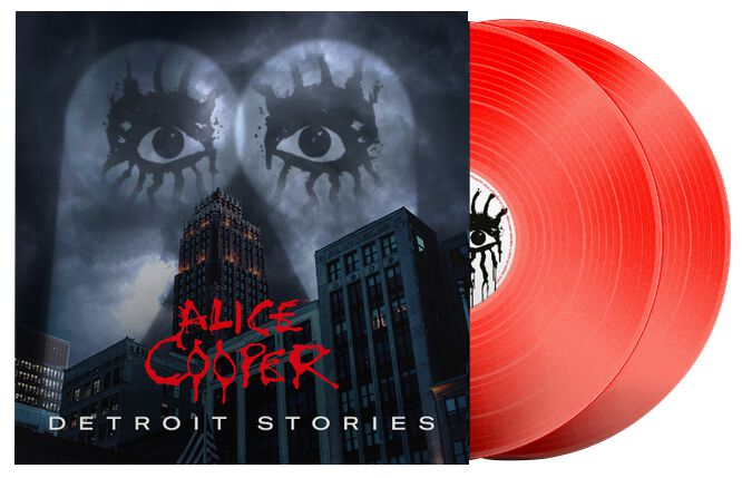 Alice Cooper  Detroit stories  2-LP  rot