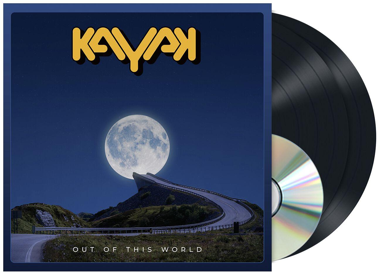 Image of Kayak Out of this world 2-LP & CD schwarz
