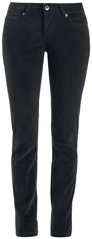 Hosen - Forplay Skarlett Stretch Cord Jeans schwarz  - Onlineshop EMP