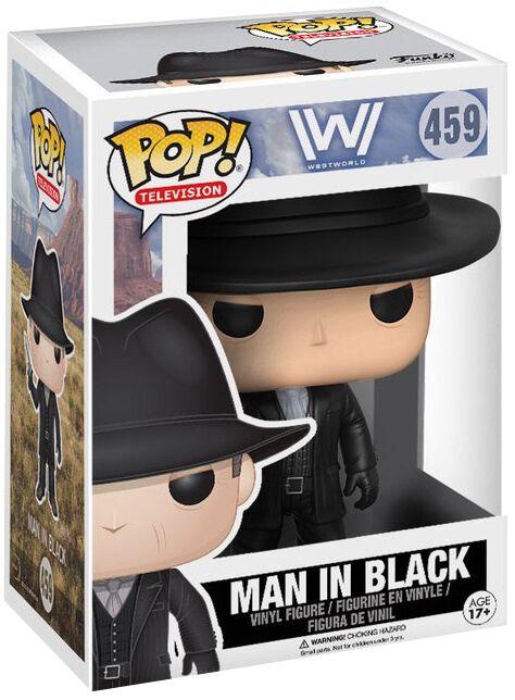 Westworld The Man in Black Vinyl Figure 459 Funko Pop! multicolor 13526