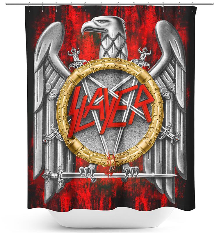Slayer - Eagle - Duschvorhang - multicolor
