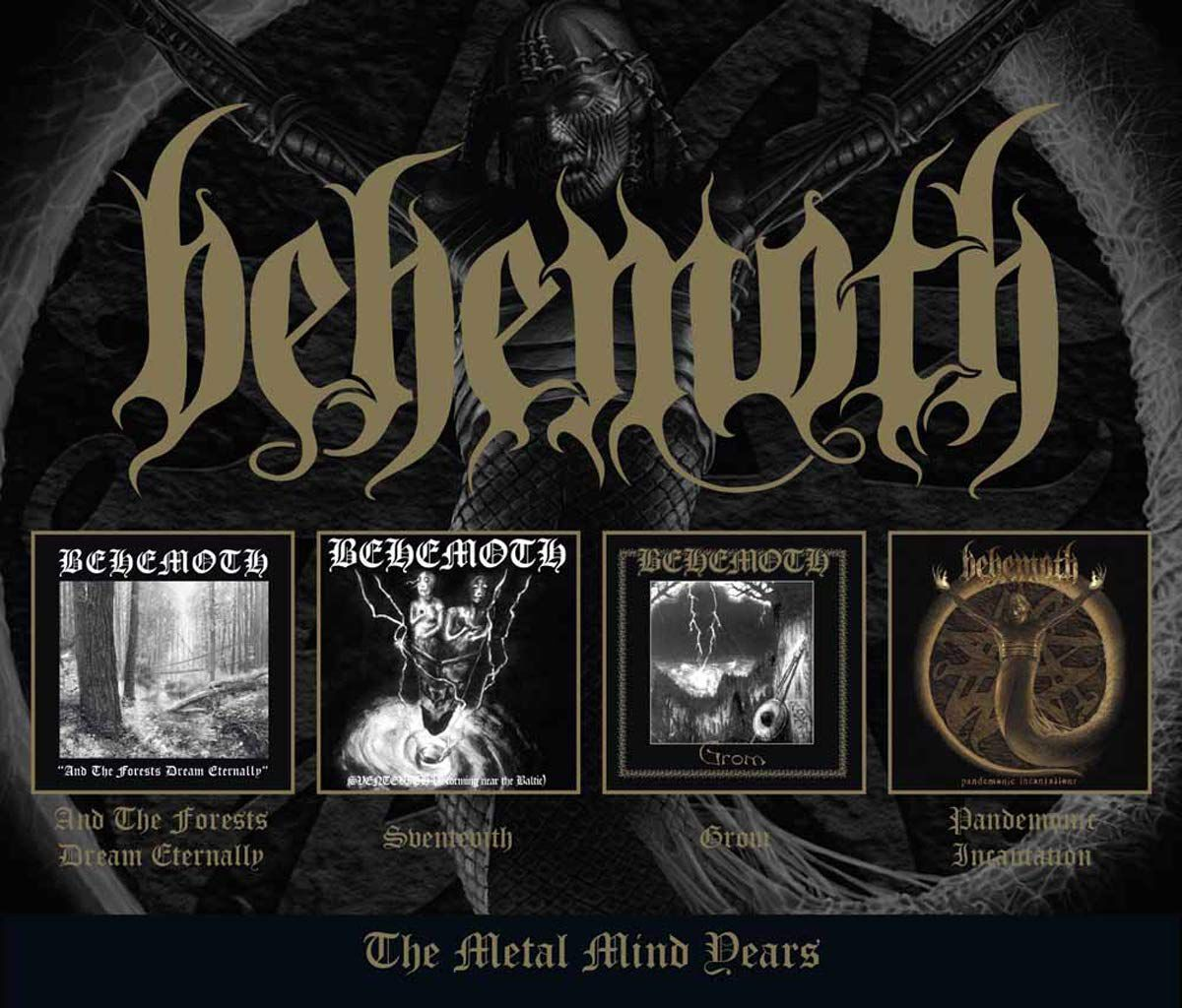 Image of Behemoth The Metal Mind years 4-CD Standard
