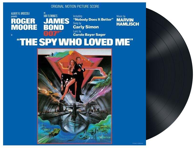 James Bond James Bond 007: The spy who loved me LP schwarz 4729317
