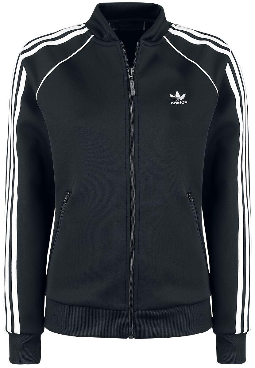 Image of Adidas SST TT Giacca allenamento donna nero/bianco