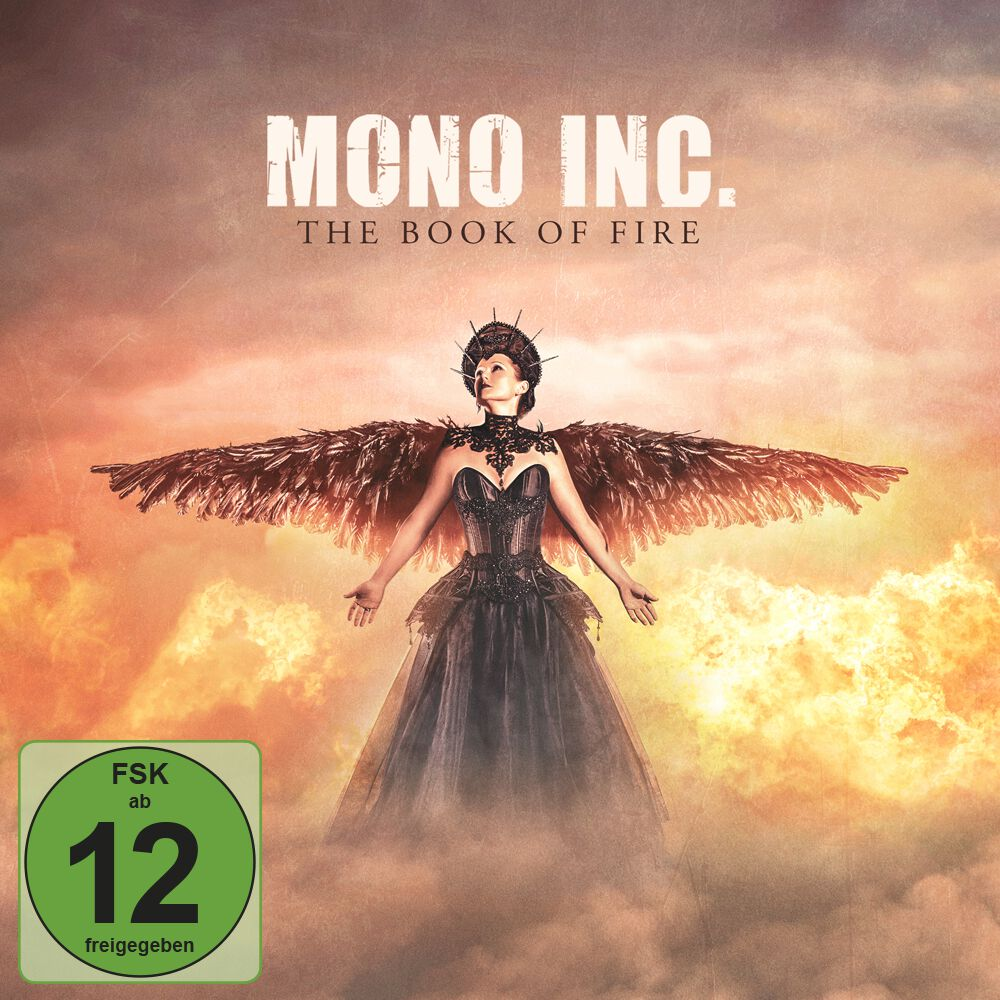 Image of Mono Inc. The book of fire 3-CD & DVD Standard