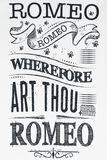 Romeo & Julia Words