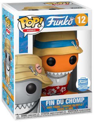Fantastik Plastik - Fin Du Chomp) (Funko Shop Europe) Vinyl Figure 12