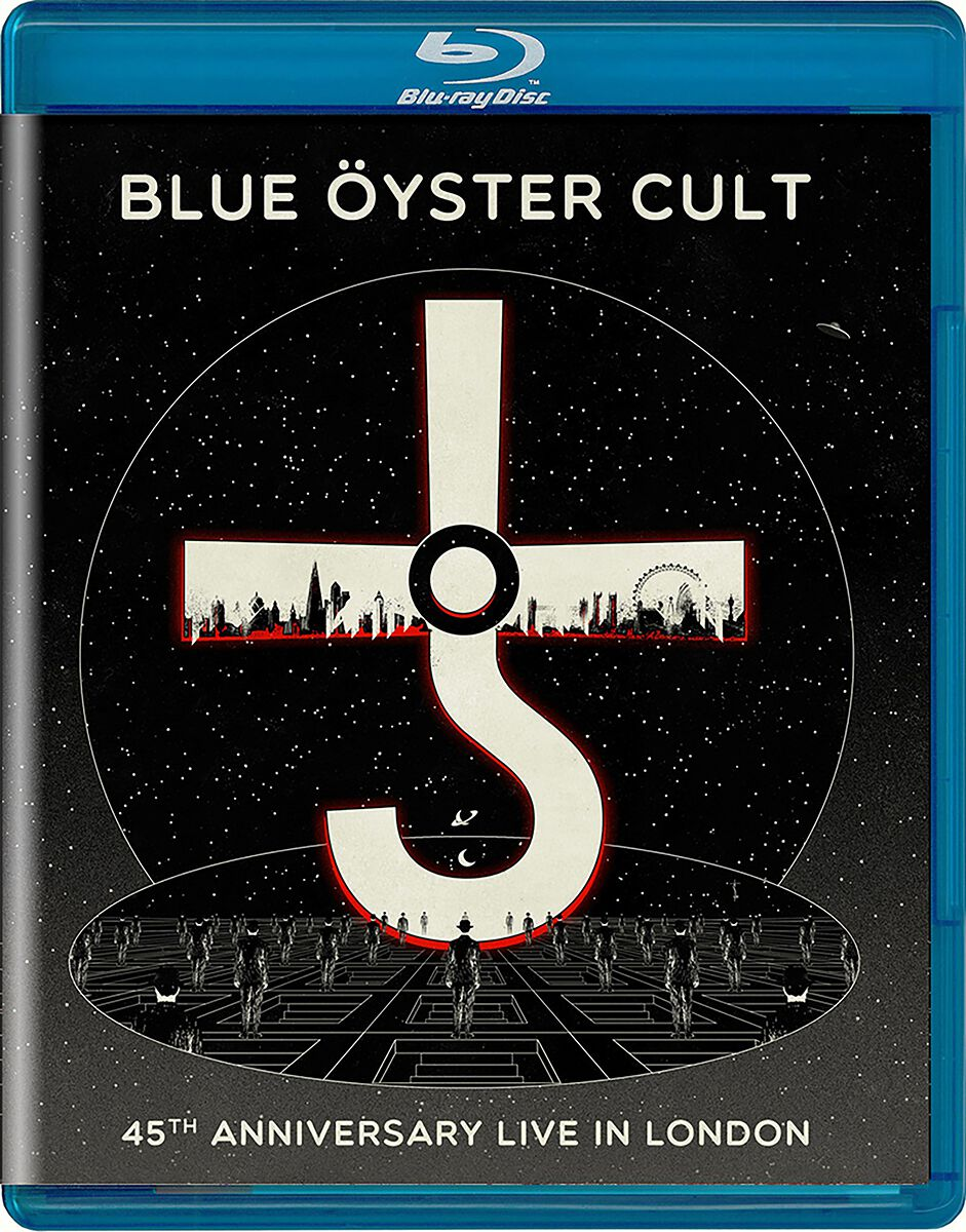 Image of Blue Öyster Cult 45th anniversary live in London Blu-ray Standard