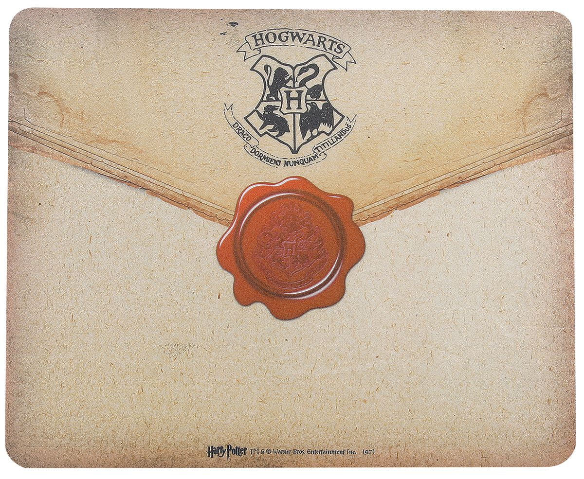 Harry Potter Hogwarts Brief  Mouse-Pad  multicolor