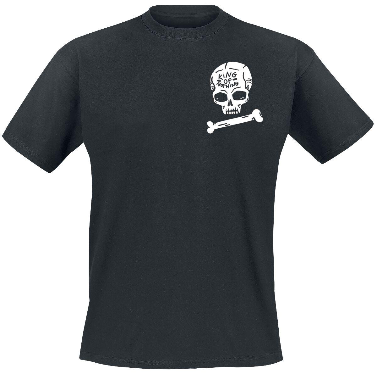 Tribe & Arrow King Of Nothing T-Shirt schwarz POD - FOTL Iconic - King Of Nothing