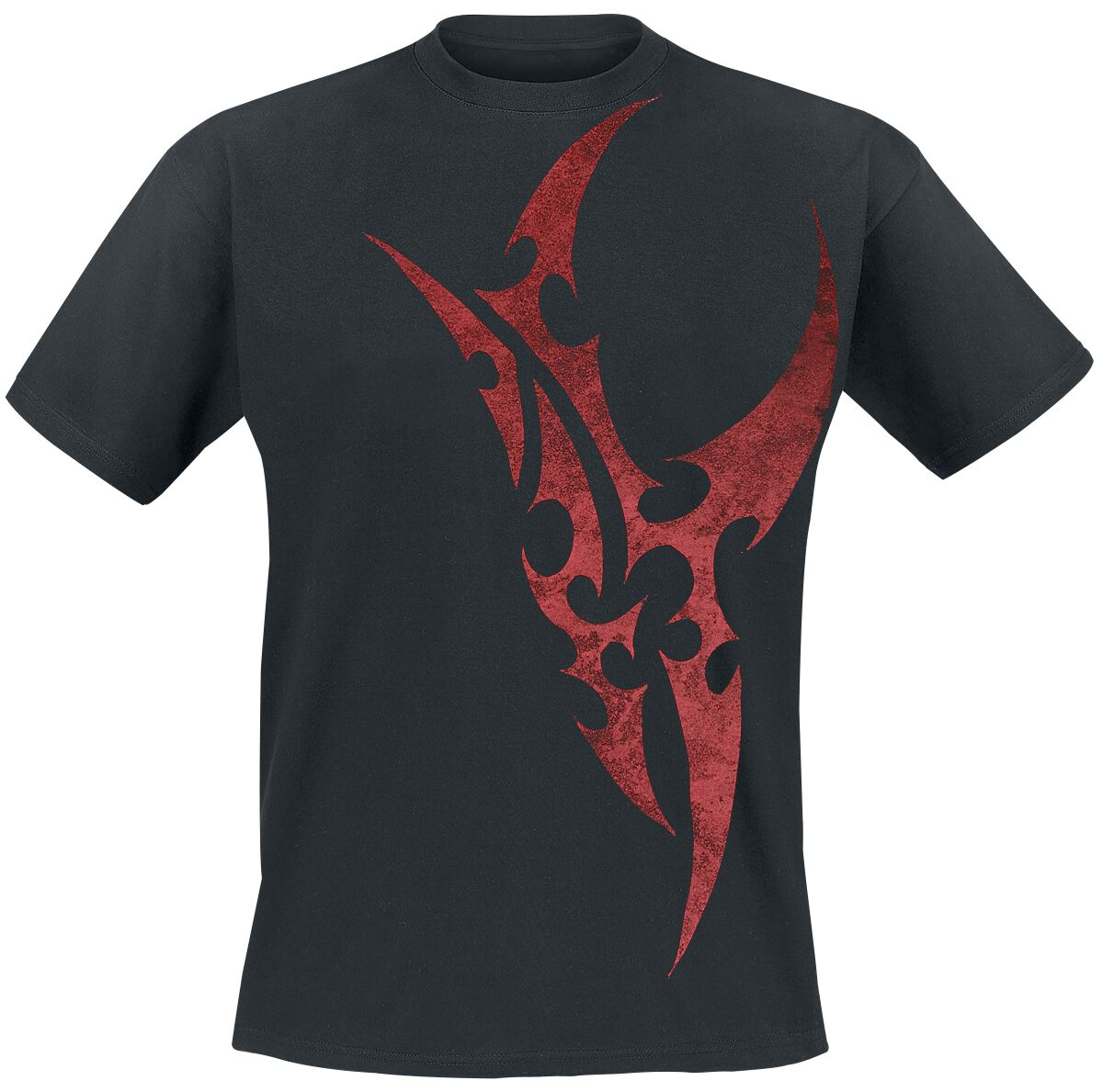 Red Blade T-Shirt schwarz