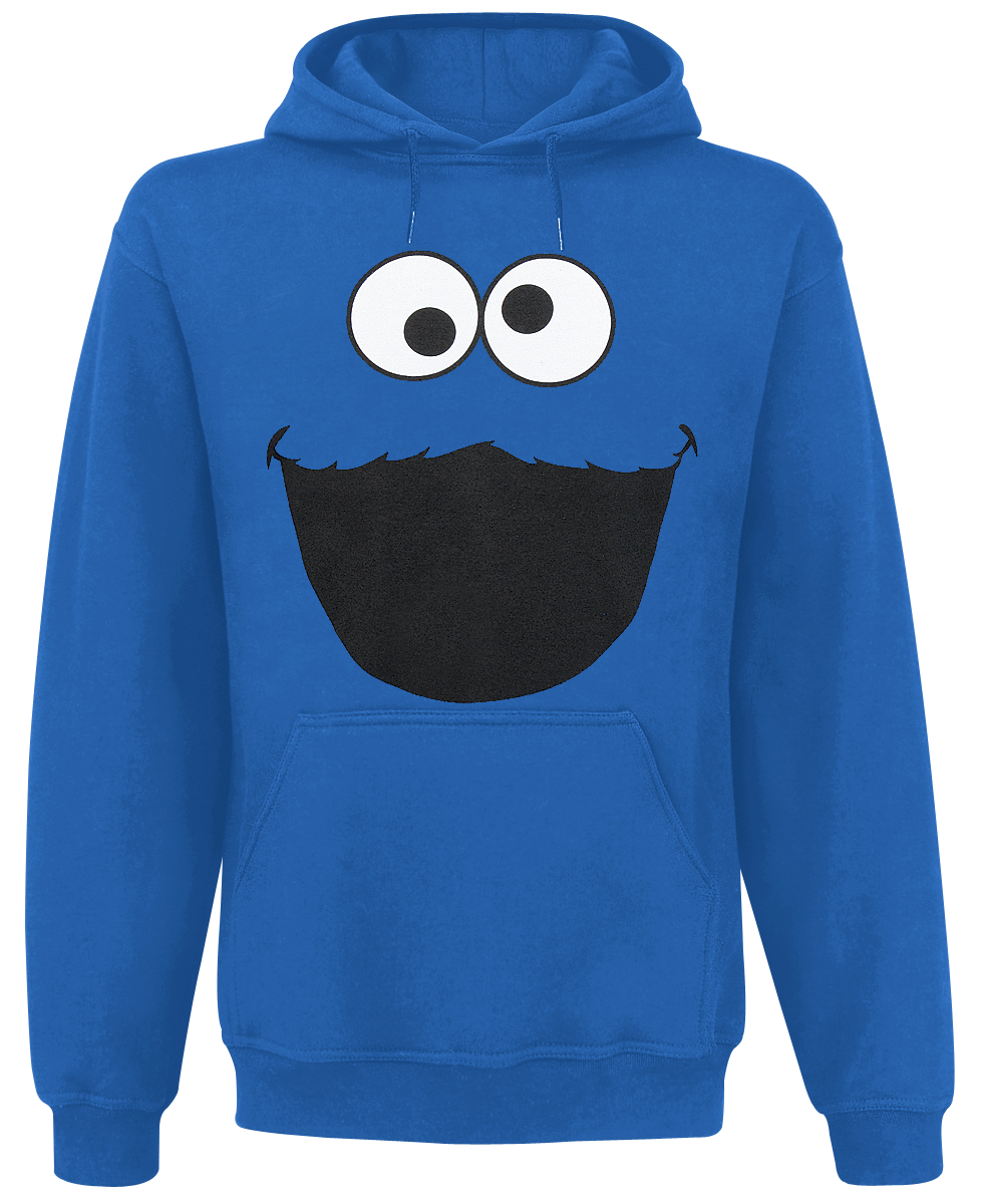 Sesame Street - Monster - Hooded sweatshirt - royal blue