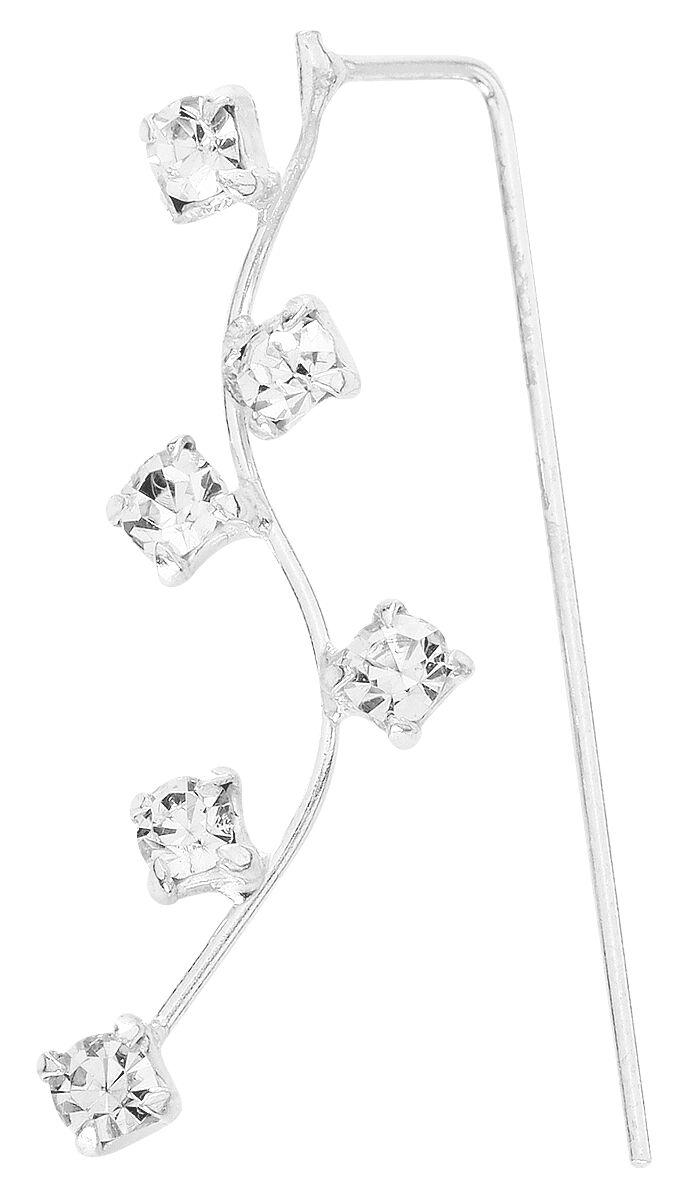 Basics - Kolczyki - Kolczyk - Earpin Crystal Line kolczyk lewy (earpin) Kolczyk - Earpin standard - 129198