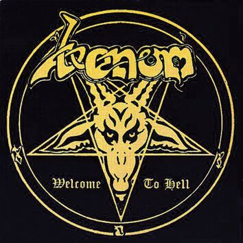 Venom Welcome to hell CD Standard