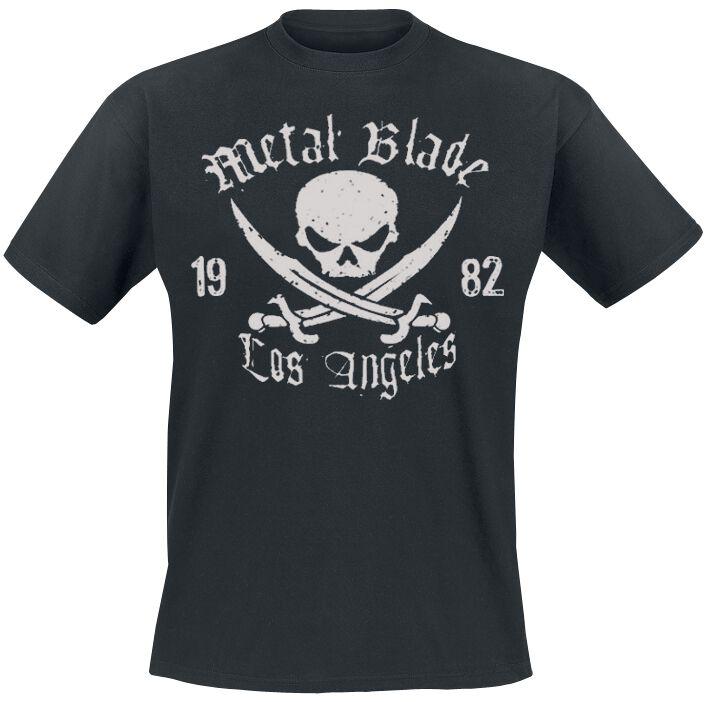 Zespoły - Koszulki - T-Shirt Metal Blade Pirate Logo T-Shirt czarny - 157368