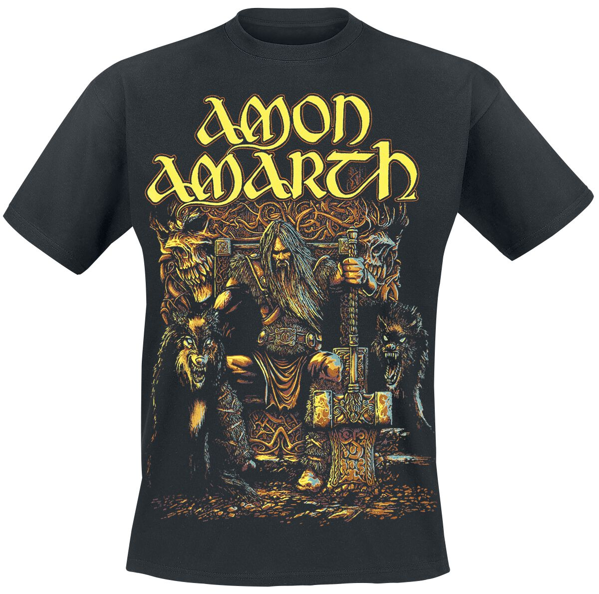 Image of   Amon Amarth Thor T-Shirt sort