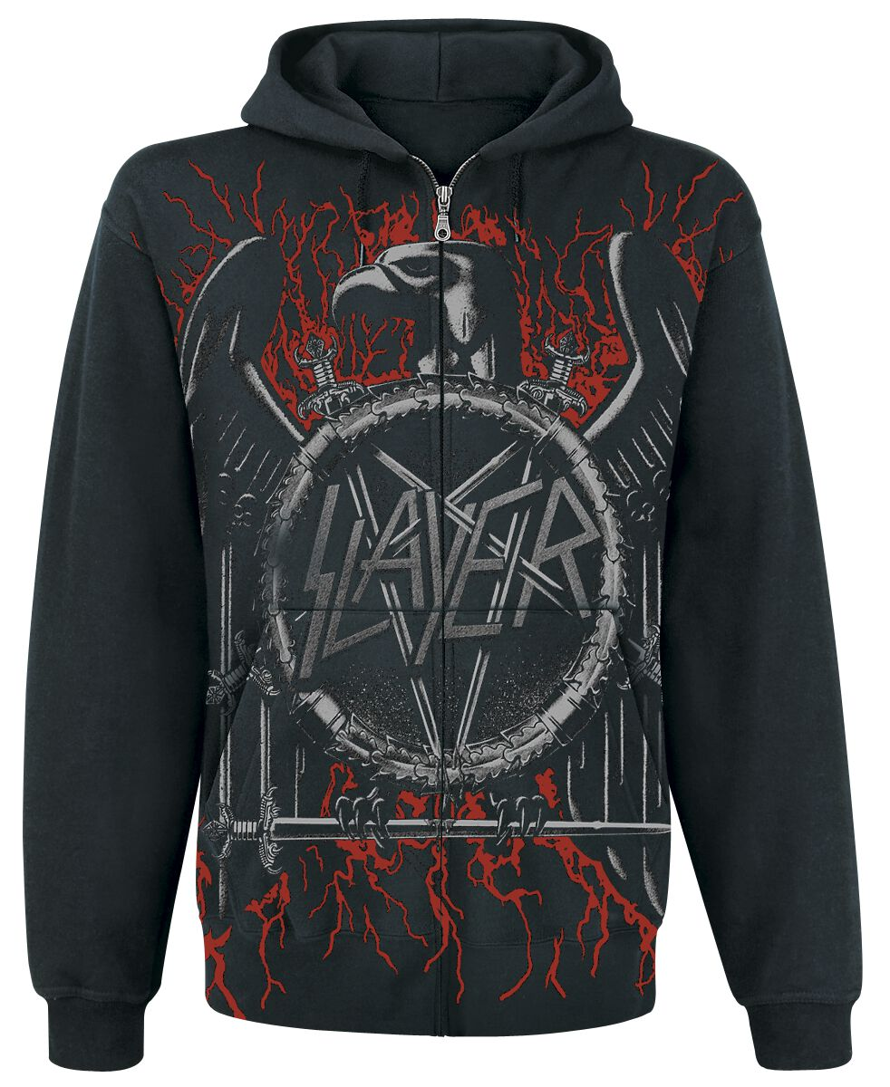 Image of   Slayer Black Eagle Hættejakke sort