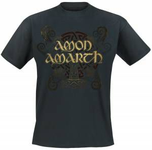 Image of   Amon Amarth Pure Viking T-Shirt sort