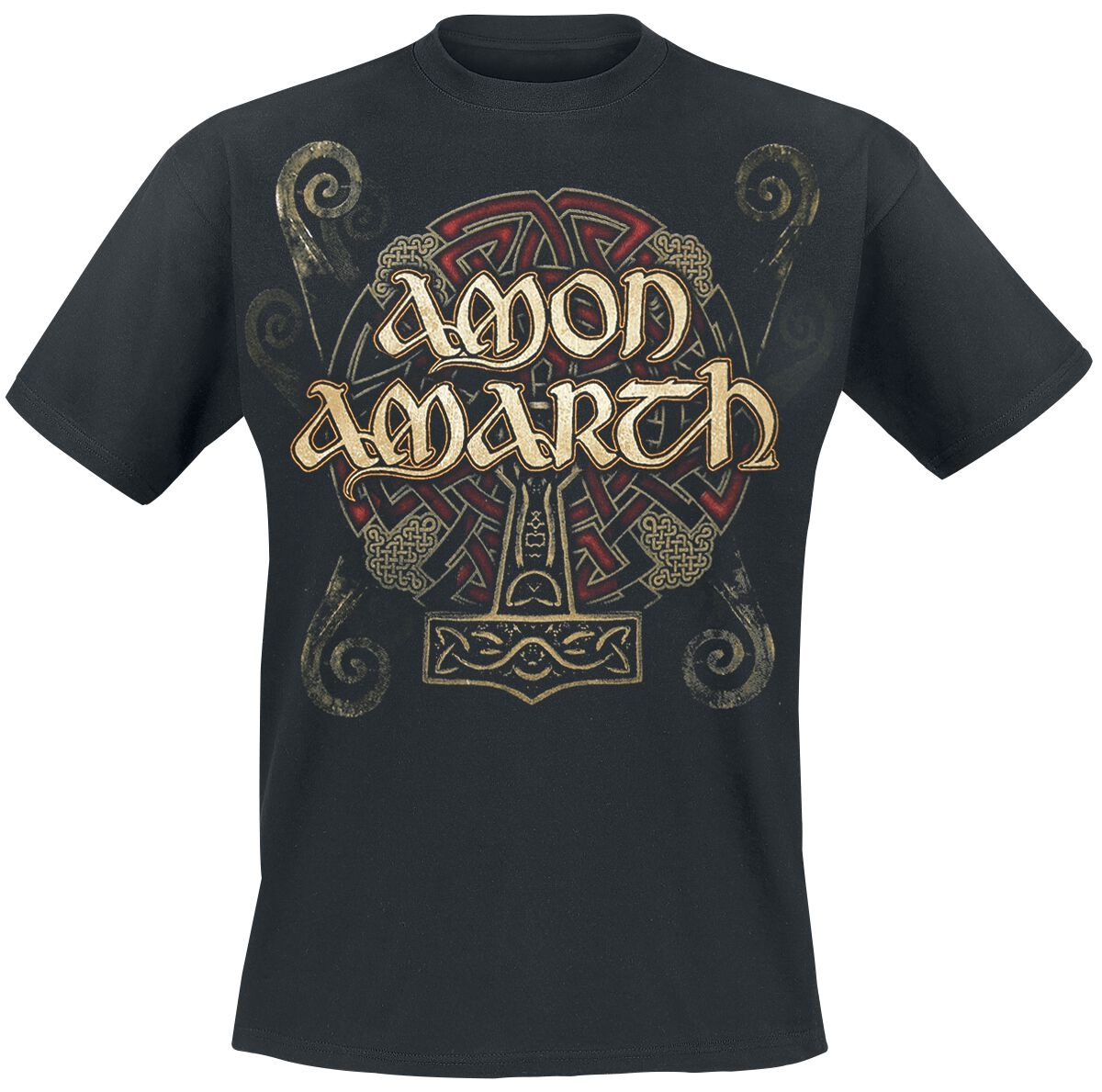 Image of   Amon Amarth Pure Viking T-Shirt sort