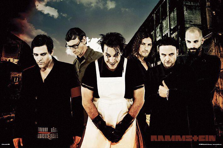 Image of   Rammstein LIFAD Plakat standard