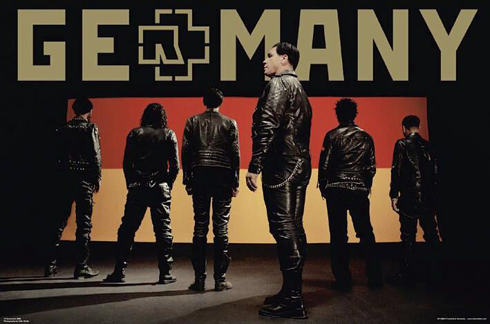 Image of   Rammstein Germany Plakat standard