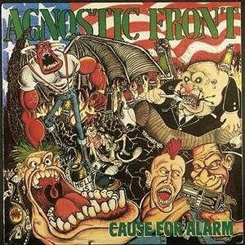 Image of Agnostic Front Cause for alarm CD Standard