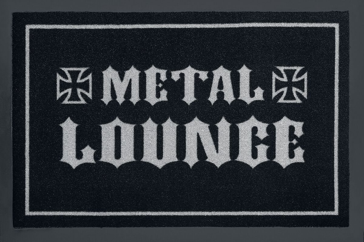 Image of   Metal Lounge Dørmåtte sort