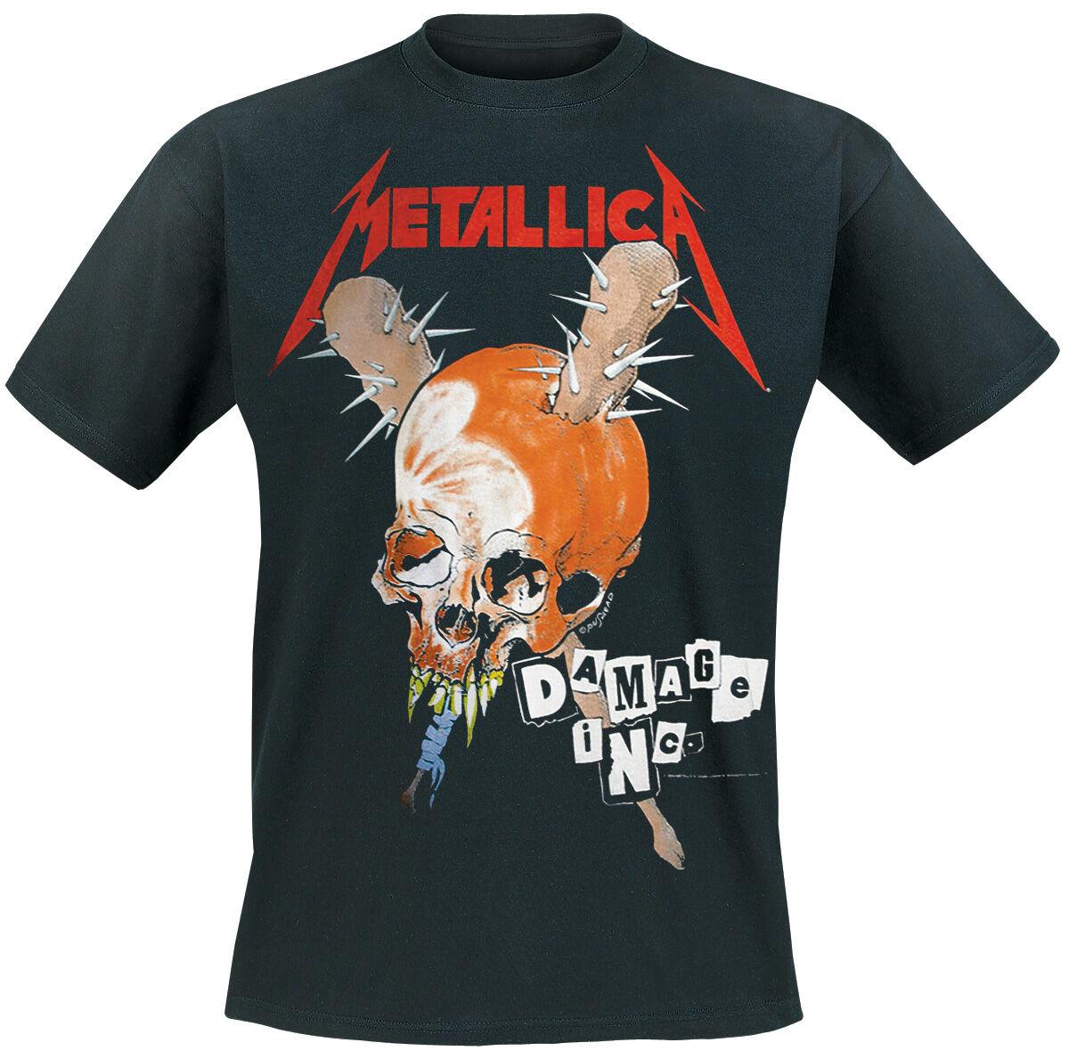 Image of   Metallica Damage Inc. T-Shirt sort