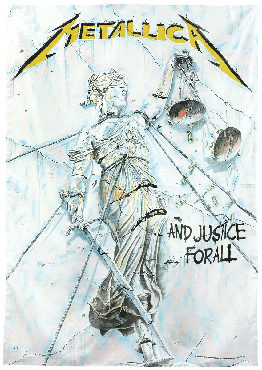 Image of   Metallica ...And Justice For All Flag standard