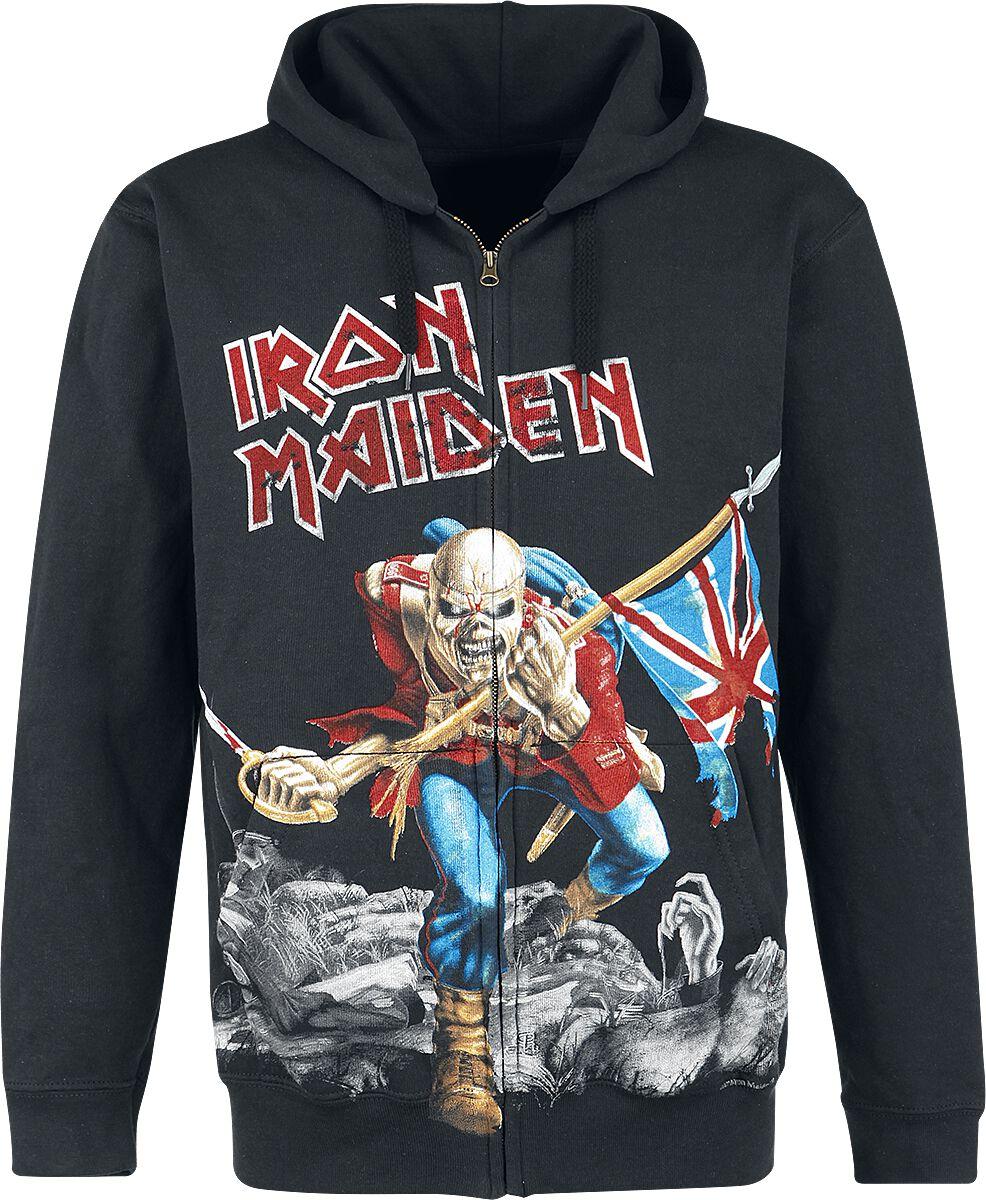 Iron Maiden The Trooper - Battlefield Kapuzenja...