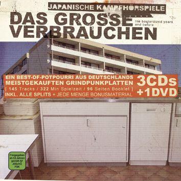 Image of Japanische Kampfhörspiele Das grosse Verbrauchen 3-CD & DVD Standard