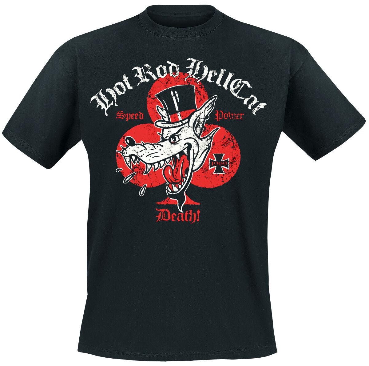 Hot Rod Hellcat Red Baron T-Shirt schwarz