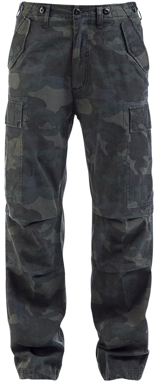 Image of   Brandit M65 Vintage Trousers Bukser mørk camo