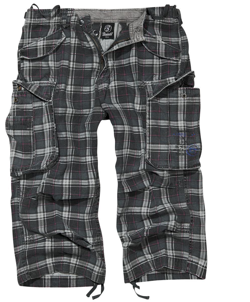 Image of   Brandit Industry Vintage 3/4 Vintage shorts mørk grå